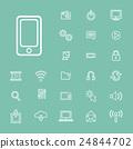 Vector Illustration UI Technology Icon Concept 24844702