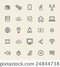 Vector Illustration UI Technology Icon Concept 24844738