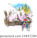 Spring Kakunodate 24847284