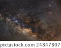 Close - up Milky way galaxy with stars and space  24847807