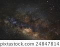 The center of the milky way galaxy 24847814