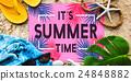 Summer Time Beach Adventure Concept 24848882