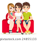 Friends Couch Smartphone 24855133