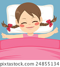 Girl Sleeping Peacefully 24855134