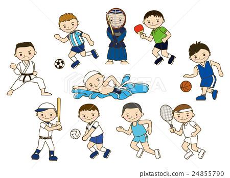 Stock Illustration: sport, sports, player