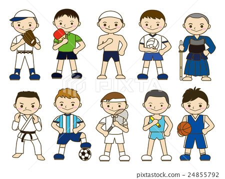 Stock Illustration: sport, sports, player