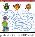 path maze activity for children 24857041