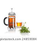 black tea with herb 24859084