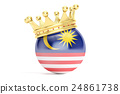 crown flag ball 24861738