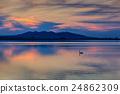sunet over lake 24862309