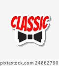 Vector classic bow-tie 24862790