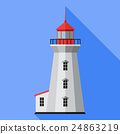 Vector lighthouse icon 24863219