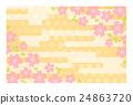 背景 矢量 樱花 24863720