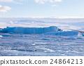 Jokulsarlon glacier lagoon, Iceland during winter 24864213
