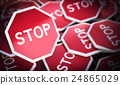 Stop Signs, Protest Symbol 24865029