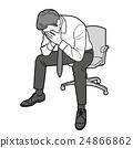 A depressed businessman 24866862