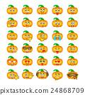 Halloween pumpkin emoji emoticons 24868709