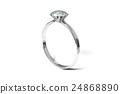 戒指 環 鑽石 24868890