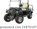 Golf car, close view 24870197