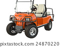 Golf car, close view 24870220