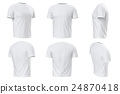 Tshirt white clothing set collection 24870418
