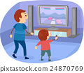 Stickman Family Boy Dad Video Game 24870769