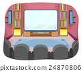 Home Theater Room Interior 24870806