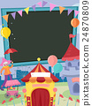 School Fair Carnival Frame 24870809