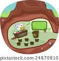 Underground Tree Classroom 24870810
