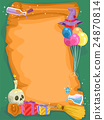Witch Craft Birthday Scroll Invitation 24870814
