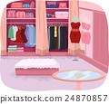 Walk In Closet Interior 24870857