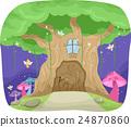 Fairies Fantasy Tree 24870860