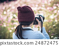 照相機 女性 女 24872475