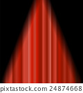 curtain, vector, stage 24874668