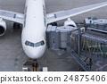 飞机 登机桥 客用飞机 24875406