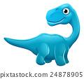 dinosaur, vector, dinosaurs 24878905