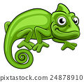 Cartoon Chameleon 24878910