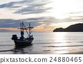 钓鱼 捕鱼 船 24880465