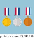 gold medal gold medal and copper 24881236