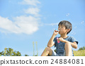 soap bubbles, soap bubble, child 24884081