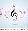 music, note, funky 24885669