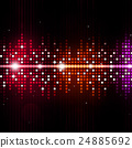 Multicolor Equalizer Music Background 24885692
