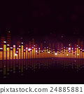 Abstract Equalizer Music Background 24885881