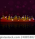 Music Party Equalizer Background 24885882