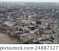 Aerial view of London 24887327
