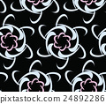 Modern seamless urban background pattern with 24892286