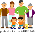 Family Family Illustration (6 people) 24893346