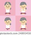 瑜伽 瑜珈 女性 24893458