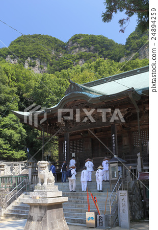 "Shikoku Shrine Plant 85th Tadashi ""Yachi Temple"" Pilgrim-san and Goganeyama 24894259"