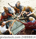 beach, celebration, friends 24898814